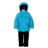 Детский зимний костюм для мальчика 4-10 лет  (куртка, полукомбинезон, манишка) ТМ Deux par Deux K 812U-776