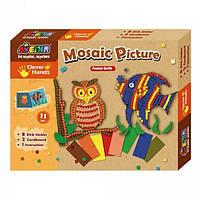 Детский игровой набор для творчества Avenir- Создай свою мозаичную картину (27х3,5х21см) ТМ Bino СН1093