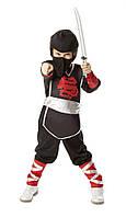 """Детский карнавальный костюм для мальчика """"Ниндзя"""" 3-6 лет Melissa & Doug MD8542"""