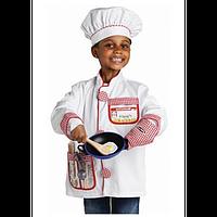 """Детский карнавальный костюм для мальчика """"Шеф-повар"""" 3-6 лет Melissa & Doug (MD14838)"""