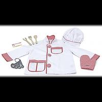 """Детский карнавальный костюм """"Шеф-повар"""" для ребенка 3-6 лет ТМ Melissa & Doug MD14838"""