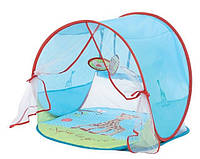 Детский коврик для игры и отдыха с козырьком от солнца «Sophie La Girafe» с рождения ТМ LUDI Разноцвет. SLG-01