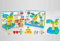 Огромная двойная Фабрика мороженого пластилин детский (Аналог Play-Doh Плей До масса для лепки)