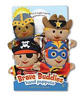 "Детский кукольный театр ""Киногерои"" (Bold Buddies Hand Puppets) 4 эл. ТМ Melissa & Doug MD19087"