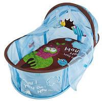 Детский манеж-кровать развивающий «Сова» с рождения ТМ LUDI Разноцветный 2824