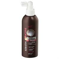 KERATIN ACTIVE Лосьон двухфазный для волос - Восстановление и блеск, 200 мл RBA /23-07