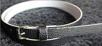 Пояс женский Текстурный черный/ цвет черный/ материал PU
