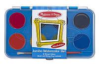 Детский набор Акварельные краски (8 цветов) ТМ Melissa & Doug MD4121