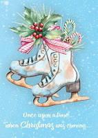 """Красивая открытка """"Однажды на Рождество"""", фото 1"""