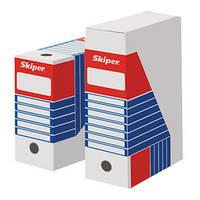 Архивный короб 10 см Skiper