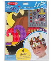 """Детский набор для творчества """"Создай свою шляпу"""" (Adventure Hats) ТМ Melissa & Doug MD9479"""