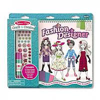 """Детский набор для творчества Fashion Designer (""""Модельер"""") ТМ Melissa & Doug MD5063"""