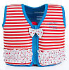 Детский плавательный жилет Original Konfidence Jacket Red Stripe L / 6-7 лет ТМ Konfidence KJ16-C-07