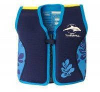 Детский плавательный жилет Original Konfidence Jacket S / 2-3 года ТМ Konfidence (Navy/Blue/Palm) KJ14-B-03