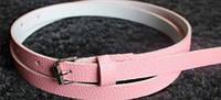 Пояс женский Текстурный розовый/ цвет розовый/ материал PU