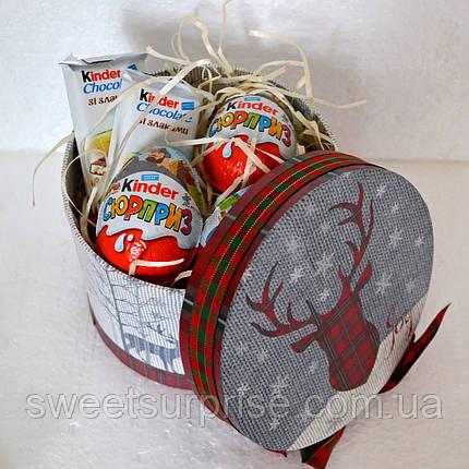 """Новогодний подарок из """"киндер-сюрпризов"""" для мальчика, фото 2"""