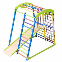 Детский спортивный комплекс раннего развития для дома SportWood от 1 года ТМ SportBaby Цветной «SportWood»