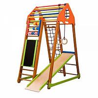 Детский спортивный комплекс раннего развития для дома «BambinoWood Plus» ТМ SportBaby