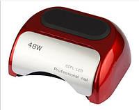 LED+CCFL лампа для гель-лаков и геля 48 Вт, красная, фото 1