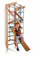 """Детский спортивный уголок """"Kinder 3-220"""" ТМ SportBaby Натуральное дерево Kinder 3-220"""