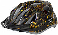 Детский шлем Green Cycle FAST FIVE размер S (50-56 см) ТМ Green Cycle Черно-золотистый HEL-19-89