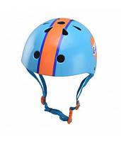 Детский шлем Kiddi Moto Gulf от 4 лет (разноцветный) ТМ Kiddi Moto HEL-52-24