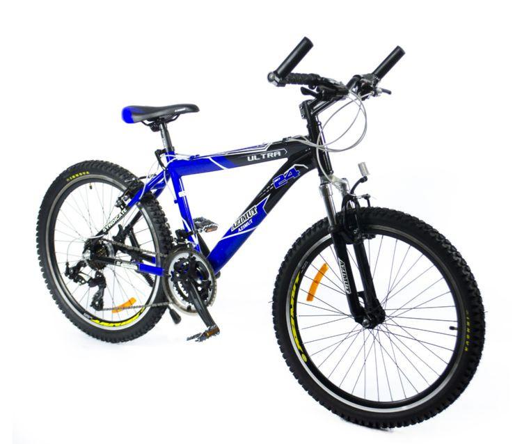 Горный  одноподвесный  велосипед   Azimut 24*207+A-1 Ultra