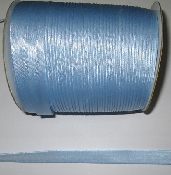 Лента для окантовки/бейка 1,5 см, голубая