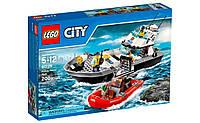 Конструктор LEGO City Полицейский патрульный катер 60129