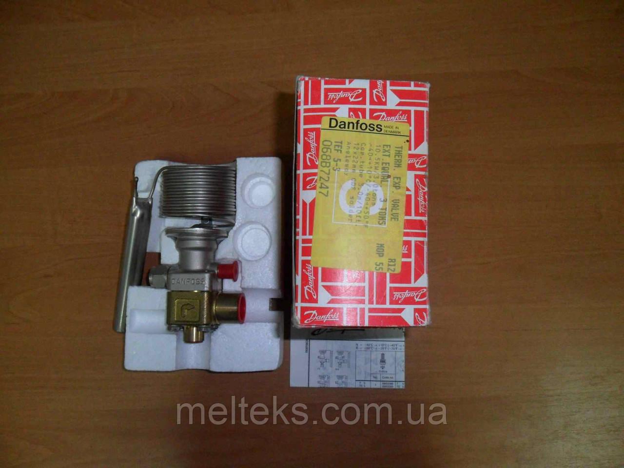 Вентиль Danfoss TEF 5-3 R12