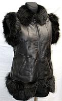 Натуральная модная женская безрукавка Nebat