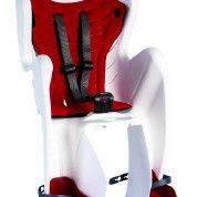 Детское заднее велосиденье Bellelli MR FOX Relax B-Fix до 22кг ТМ BELLELLI Бело-красный SAD-28-51