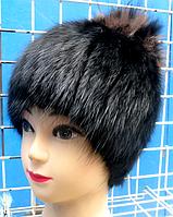 Женская зимняя шапка из меха андатры