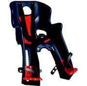 Детское переднее велосиденье BELLELLI Rabbit Handlefix до 15 кг ТМ BELLELLI Синее с красной SAD-25-77