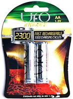 Аккумулятор UFO HR6 Ni-MH 2300mAh 2шт