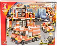 """Конструктор Sluban """"Пожарные спасатели"""" M38-B0226R"""