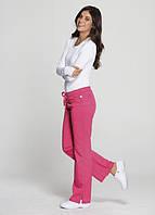 Женские Медицинские Брюки Med-Expert 000A Code Happy Mid Rise Moderate Flare Leg Pants, фото 1