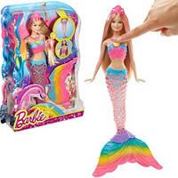 Кукла Барби Русалка Радуга со светящимся хвостом (Barbie DHC40)