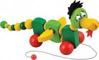 "Дракончик, игрушка-каталка ТМ ""Игрушки из дерева"" Д283"