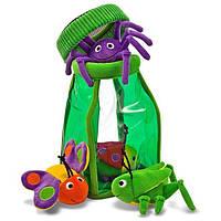 Забавные насекомые в кувшине. Melissa & Doug (MD3046). Мягкая игрушка.
