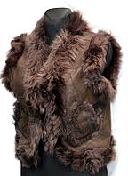 Молодіжна жіноча натуральна жилетка Nebat