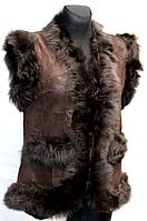 Молодіжна жіноча натуральна жилетка 42-48