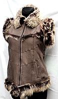 Модная турецкая натуральная женская жилетка Nebat