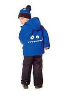 Зимний костюм для мальчика 2-5 лет  (куртка, полукомбинезон, манишка) ТМ Deux par Deux J 811-999