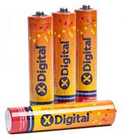 ОТП! Батарейка X-DIGITAL Longlife AA R6 вак.уп 4шт #60 шт