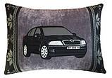 Подушка подарункова сувенірна з силуетом Вашого авто 35см*35см, фото 4