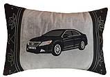 Подушка подарункова сувенірна з силуетом Вашого авто 35см*35см, фото 5