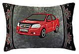 Подушка подарункова сувенірна з силуетом Вашого авто 35см*35см, фото 3