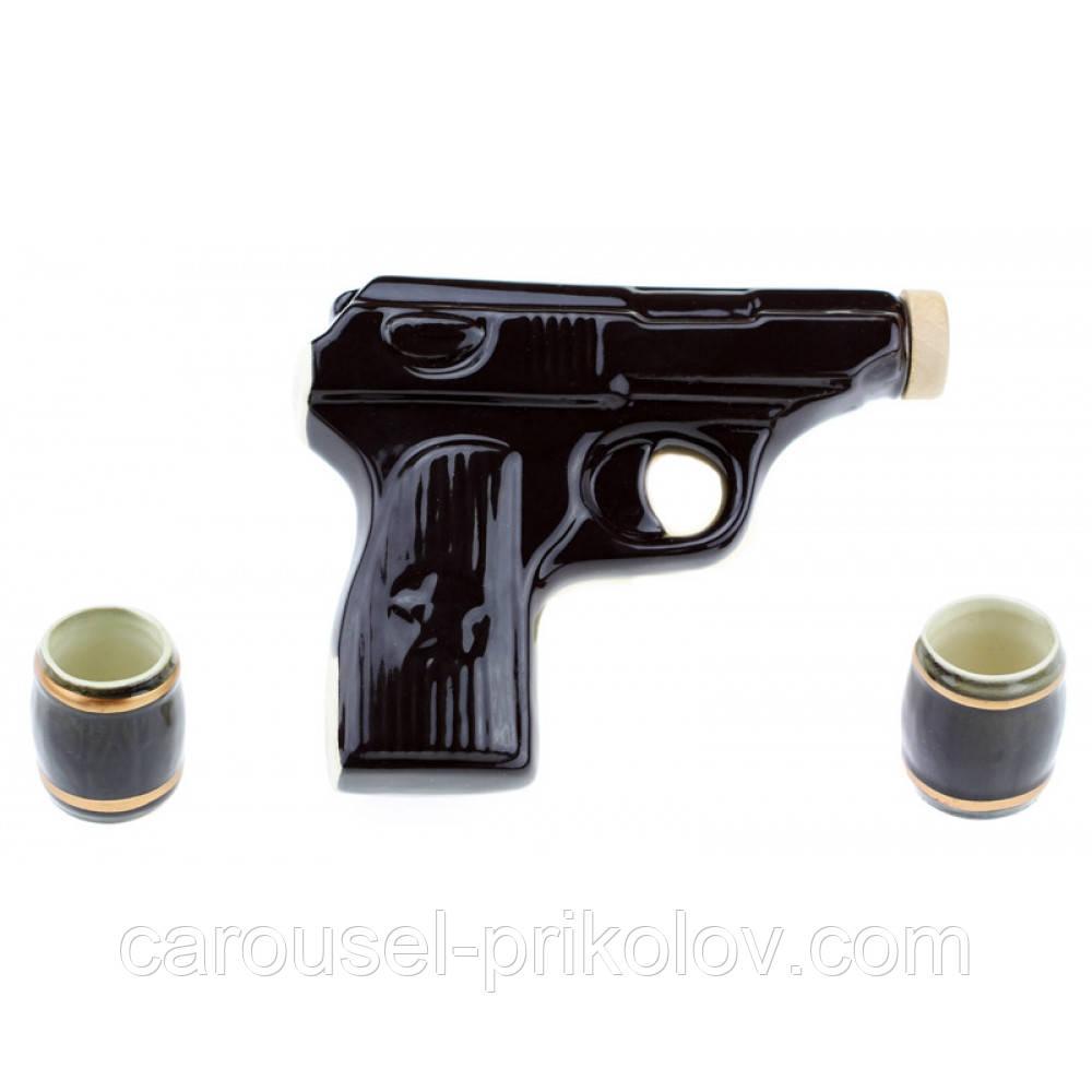 Набір коньячний Пістолет Макарова, 3 предмета
