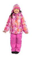 Зимний термокостюм для девочки от 1,5 до 6 лет (куртка и полукомбинезон), р. 86-116 ТМ Nanö256 M F14